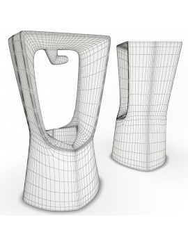 outdoor-plastic-furniture-and-accessories-3d-models-stool-kenny-wireframe