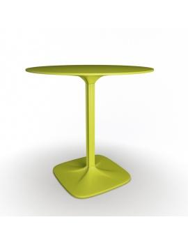 collection-3d-de-mobilier-d-exterieur-en-plastique-modele-3d-table-supernatural-ronde
