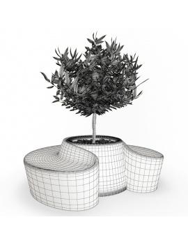 collection-3d-de-mobilier-d-exterieur-en-plastique-modele-3d-pot-sardana-filaire