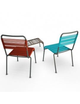 collection-3d-de-mobilier-d-exterieur-en-metal-modele-3d-chaise-camargue-dos