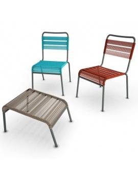 collection-3d-de-mobilier-d-exterieur-en-metal-modele-3d-chaise-camargue