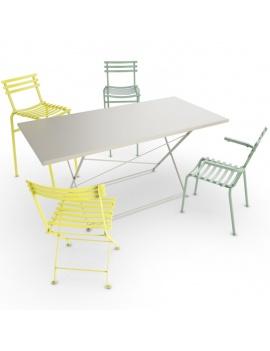 collection-3d-de-mobilier-d-exterieur-en-metal-modele-3d-table-chaise-fleur