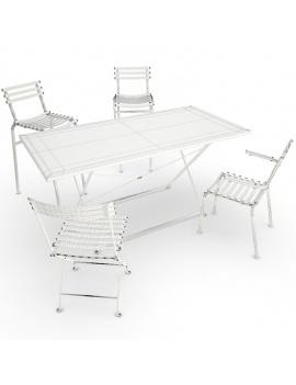 collection-3d-de-mobilier-d-exterieur-en-metal-modele-3d-table-chaise-fleur-filaire