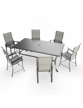 collection-3d-de-mobilier-d-exterieur-en-metal-modele-3d-table-chaise-lounge