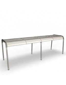 collection-3d-de-mobilier-d-exterieur-en-metal-modele-3d-banc-luxembourg-02-filaire