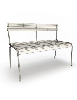 collection-3d-de-mobilier-d-exterieur-en-metal-modele-3d-banc-luxembourg-filaire