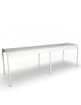 collection-3d-de-mobilier-d-exterieur-en-metal-modele-3d-banc-luxembourg-02