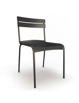 collection-3d-de-mobilier-d-exterieur-en-metal-modele-3d-chaise-luxembourg