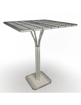 collection-3d-de-mobilier-d-exterieur-en-metal-modele-3d-table-luxembourg-01-filaire