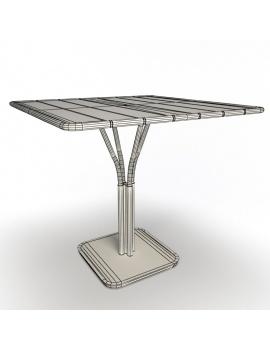 collection-3d-de-mobilier-d-exterieur-en-metal-modele-3d-table-luxembourg-03-filaire