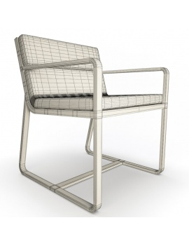 outdoor-metallic-furniture-collection-3d-models-armchair-sit-wireframe