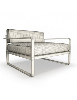 outdoor-metallic-furniture-collection-3d-models-armchair-sit-lounge-wireframe