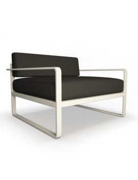 collection-3d-de-mobilier-d-exterieur-en-metal-modele-3d-fauteuil-sit-lounge