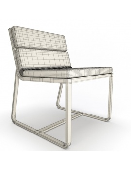 outdoor-metallic-furniture-collection-3d-models-chair-sit-wireframe