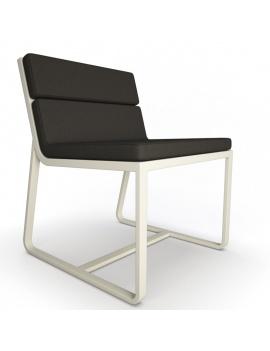 collection-3d-de-mobilier-d-exterieur-en-metal-modele-3d-chaise-sit