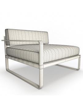 collection-3d-de-mobilier-d-exterieur-en-metal-modele-3d-module-sit-03-filaire