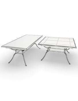 collection-3d-de-mobilier-d-exterieur-en-metal-modele-3d-table-avalon-filaire