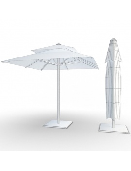 outdoor-metallic-furniture-collection-3d-models-parasol-01-wireframe