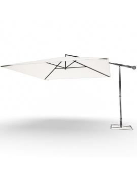 collection-3d-de-mobilier-d-exterieur-en-metal-modele-3d-parasol-02-filaire