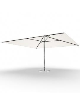 collection-3d-de-mobilier-d-exterieur-en-metal-modele-3d-parasol-03-filaire