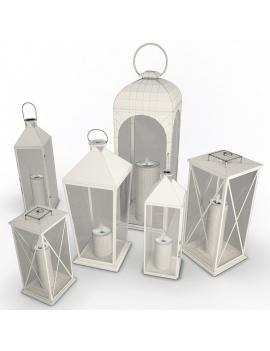 collection-3d-de-mobilier-d-exterieur-en-metal-modele-3d-lanternes-01-filaire