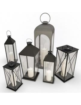 collection-3d-de-mobilier-d-exterieur-en-metal-modele-3d-lanternes-01