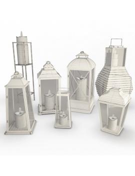 collection-3d-de-mobilier-d-exterieur-en-metal-modele-3d-lanternes-02-filaire