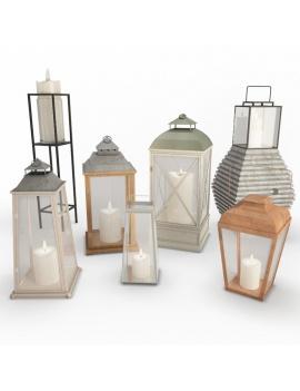 collection-3d-de-mobilier-d-exterieur-en-metal-modele-3d-lanternes-02