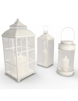 outdoor-metallic-furniture-collection-3d-models-white-lantern-wireframe