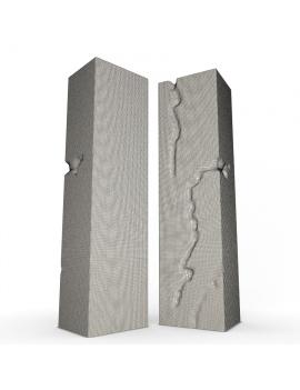 sculpture-collection-3d-models-etna-wireframe