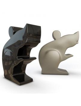 sculpture-collection-3d-models-mouse
