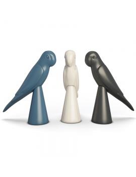 sculpture-collection-3d-models-parrot