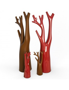 sculpture-collection-3d-models-tree