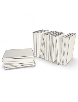 books-collection-3d-models-pocket-01-wireframe