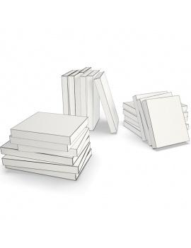 books-collection-3d-models-pocket-03-wireframe