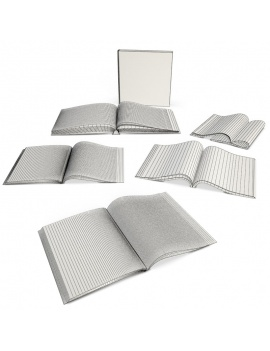 books-collection-3d-models-magazine-wireframe