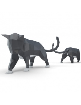 origami-paper-sculpture-collection-3d-models-cat