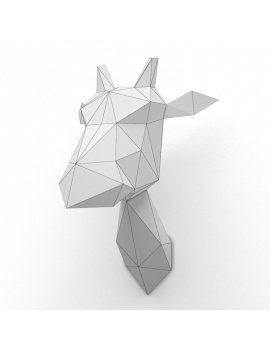 origami-paper-sculpture-collection-3d-models-girafe-wireframe