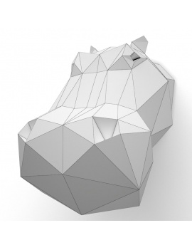 origami-paper-sculpture-collection-3d-models-hippo-wireframe