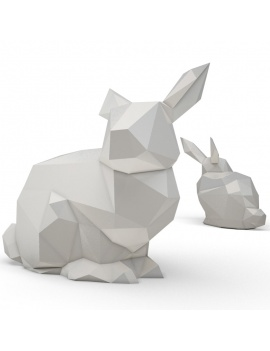 origami-paper-sculpture-collection-3d-models-rabbit