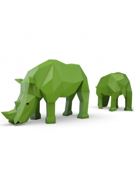 origami-paper-sculpture-collection-3d-models-rhino