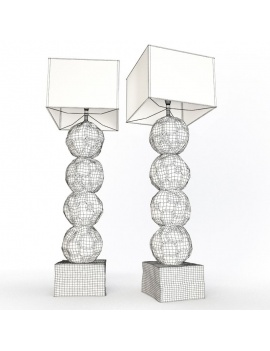 modern-lamps-collection-3d-models-lamp-ipnos-wireframe