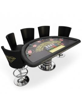 amenagement-de-casino-de-jeux-table-de-jeux-blackjack