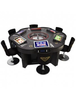 casino-machine-and-lighting-collection-3d-models-game-table-roulette-royal-crown