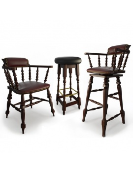 classic-bar-wooden-furniture-3d-models-cover