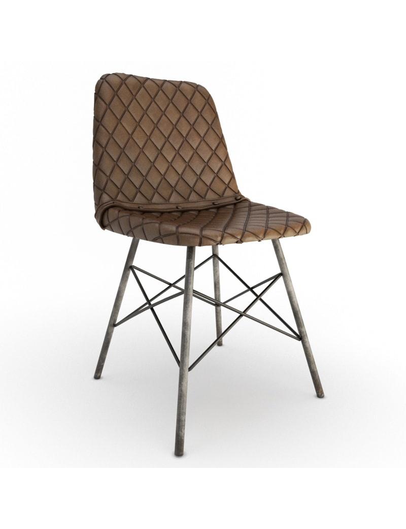 vintage-leather-chair-doris-diamond-3d-model