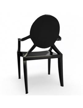 chaise-plastique-ghost-starck-modele-3d-02