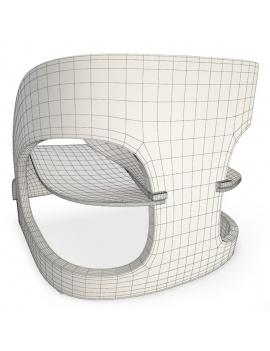 joe-colombo-armchair-3d-model-wireframe