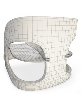 joe-colombo-kartell-armchair-3d-model-wireframe
