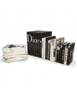 set-of-mode-books-3d